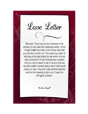 Valentines Letter Template Free Download