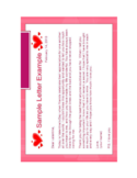 Valentines Letter Sample Free Download