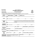 Motor Vehicle Bill of Sale Form - Connecticut