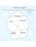 6 Circles Venn Diagram Template Free Download