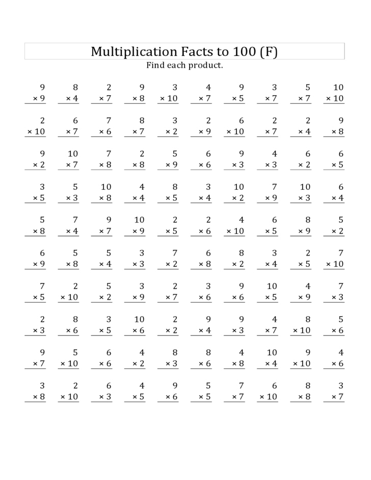 math worksheet : multiplication mad minute printable worksheets free  the best and  : Mad Minute Multiplication Worksheet