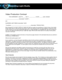 Sample Video Production Contract Free Download
