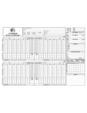 Official Volleyball Score Sheet - USA Volleyball Free Download