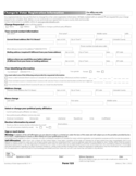 Sample Voter ID Address Change Form Free Download