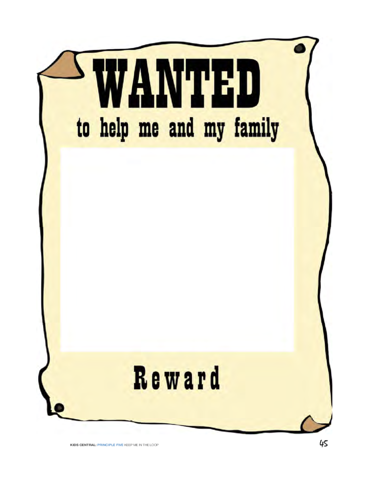 wanted posters sample free download