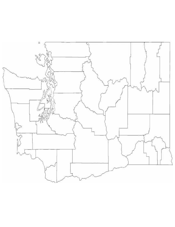 blank washington county map free download