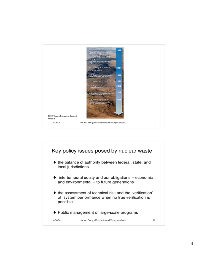 an analysis of the nuclear waste management Civilian nuclear waste disposal congressional research service summary management of civilian radioactive waste has posed difficult issues for congress since the.