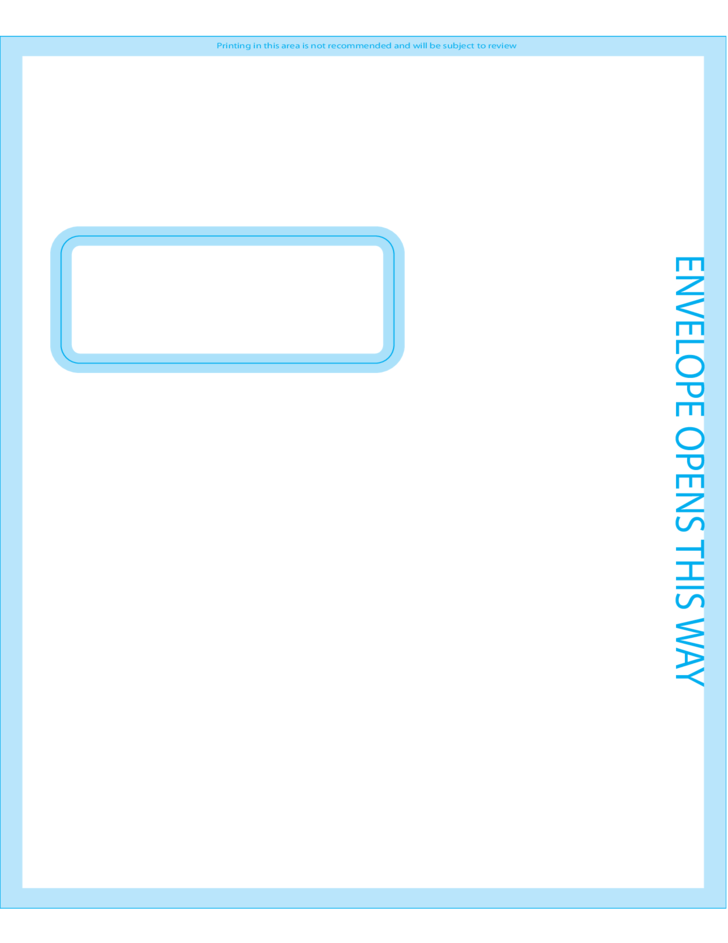 Window Envelopes X Front Free Download - 9x12 booklet envelope template