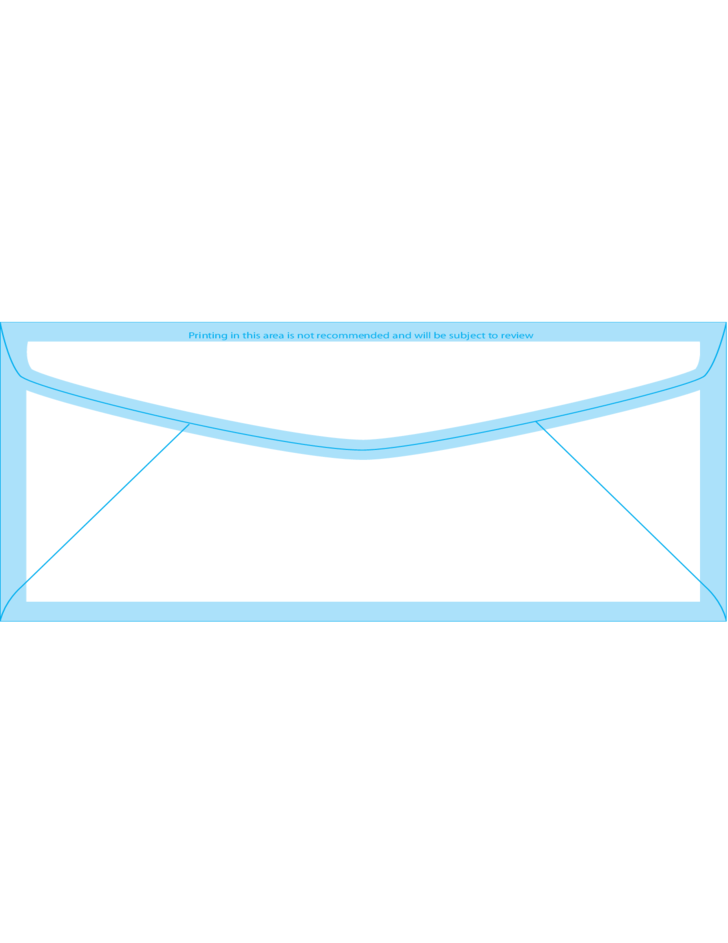 Window envelopes 7 3 3 4 x 6 3 4 back free download for Window envelope design
