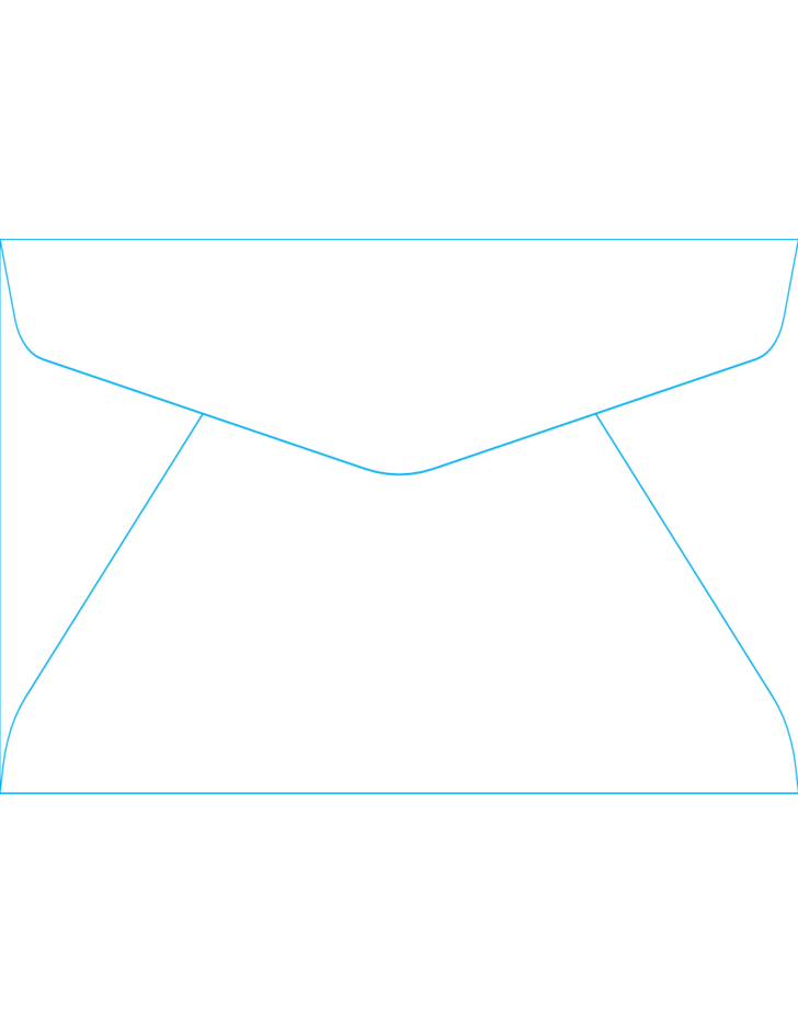 Blank window envelopes 10 4 1 8 x 9 1 2 back free for Window envelope design