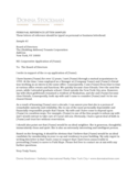 Personal Reference Letter Sample Free Download