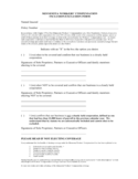 Workers Compensation Inclusion/Exclusion Form - Minnesota