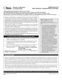 Application for Ohio Workers' Compensation Coverage Free Download