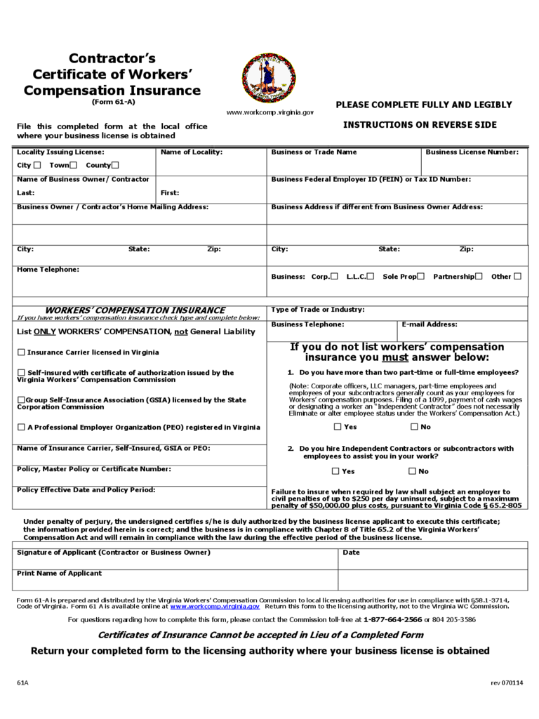 Workers' Compensation Forms - 29 Free Templates in PDF, Word ...