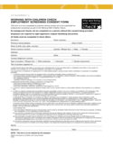 Working With Children Check Employment Screening Consent Form Free Download