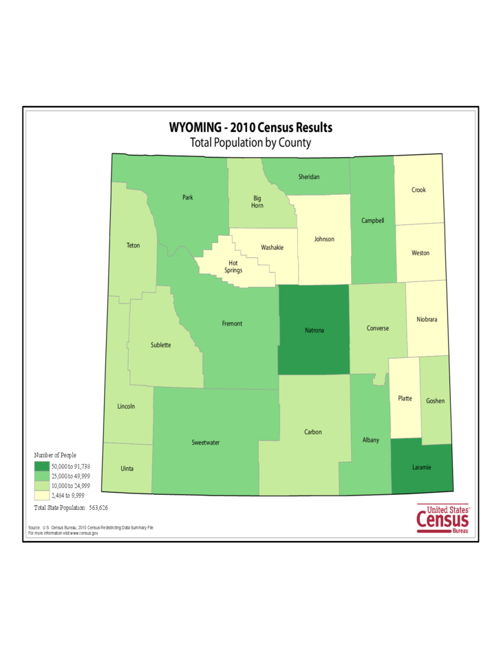 Re Districting >> Wyoming County Population Map Free Download