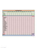 Yearly Budget Planner Free Download