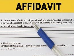 free Affidavit of Support