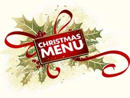 free Christmas Menu Template
