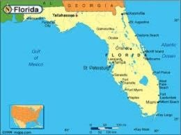 free Florida Map Template