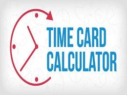 free Time Card Calculator Template